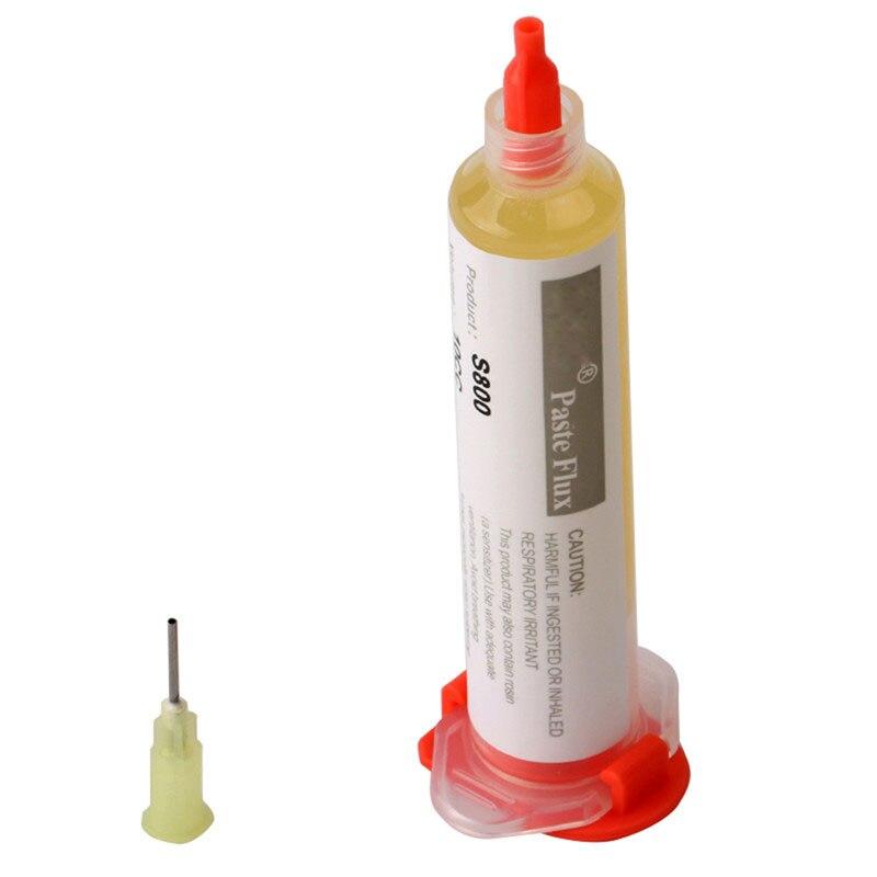 JImbon S800 10CC Solder Paste Flux Soldering Paste With 1pc Needle For Soldering SMD BGA Dispensing Welding Flux