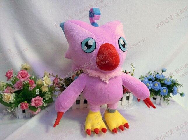Digimon плюшевый-Digimon Piyomon плюшевая кукла игрушка 45 см плюшевый ручной работы