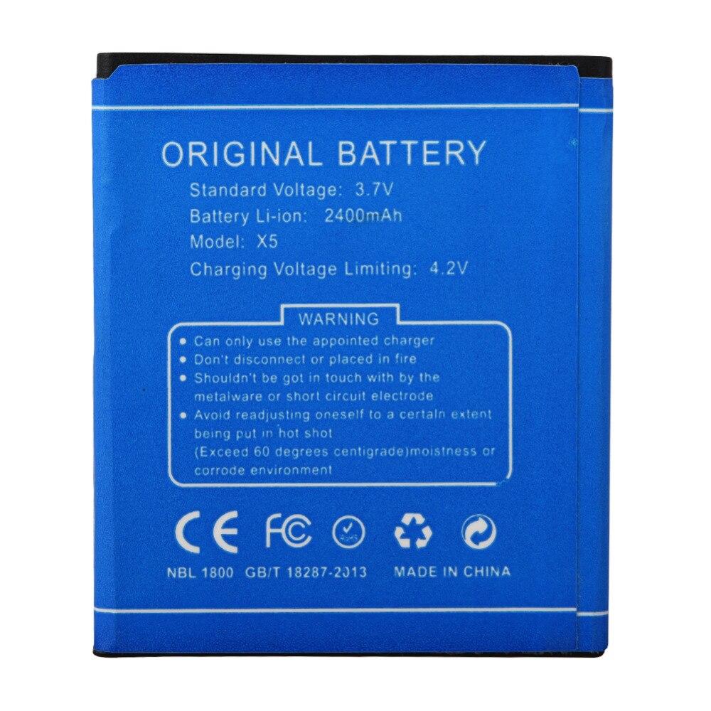 Hohe Qualität Batterie Für DOOGEE 2400 mah Ersatz Handy-akku Für DOOGEE X5 X5 Pro Wiederaufladbare Pufferbatterie Bateria
