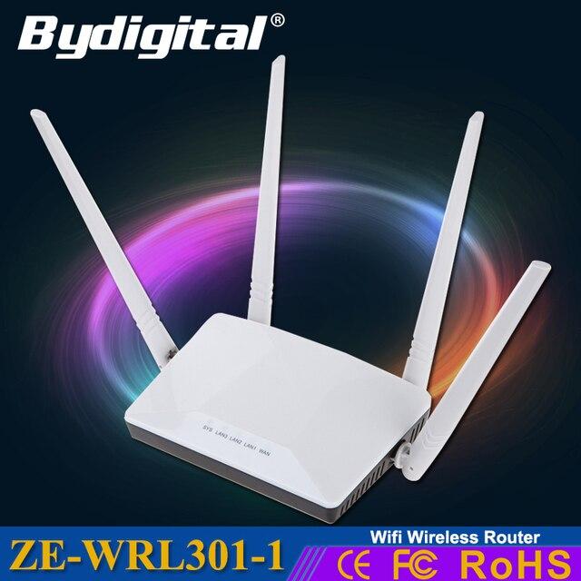 С высоким коэффициентом усиления wifi роутер mimo высокой мощности wi-fi ретранслятор Беспроводной Маршрутизатор 300 Мбит 3 г 4 г roteador 32 М памяти антенна