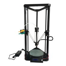 High precision HE3D reprap K200 delta 3D printer auto leveling full metal long-distance extruder