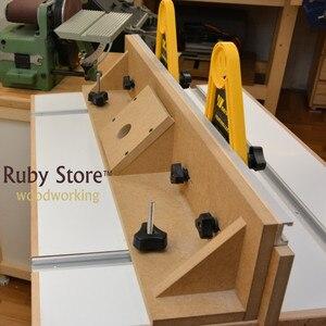 Image 5 - Tavole multiuso a doppia piuma bordo di piume per seghe da tavolo Router e tavoli recinzioni strumenti mitra calibro Slot lavorazione del legno fai da te