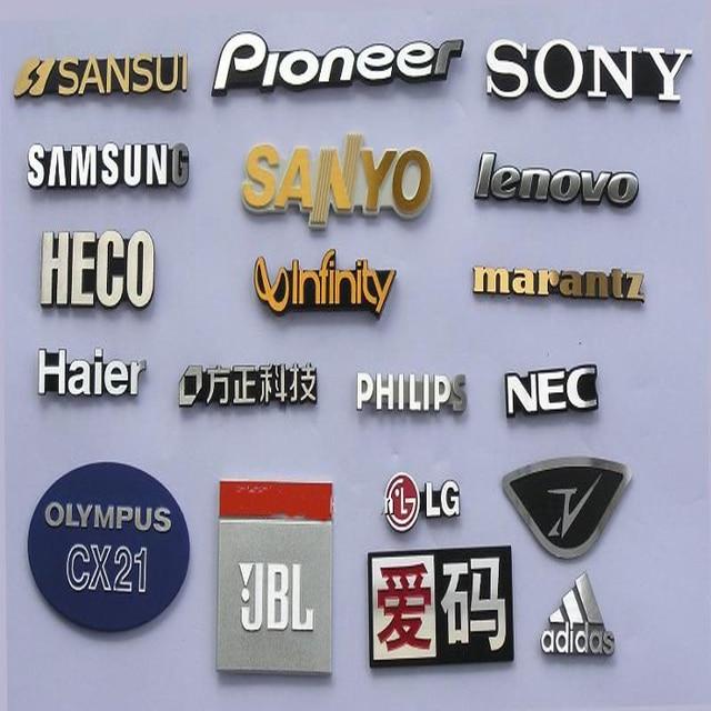 Sticker For Range Rover Sport Transparent Promotion Tpu: Custom Logo 3D Aluminum Plate Nameplate Brushed Metal