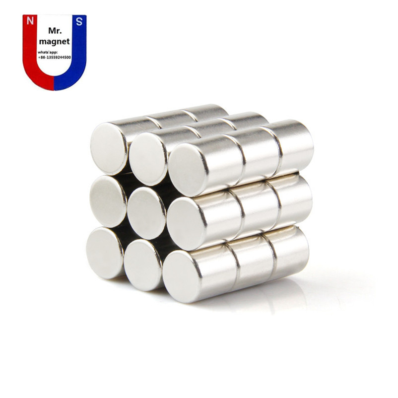 2pcs D30x30mm magnet Dia 30x30mm NdFeB strong magnetic material, powerful magnets D30*30 mm cylinder magnet Dia 30x30 1pcs d25 300mm magnetic bar 12000 gauss strong magnetic bar magnet strong magnetic frame iron material removal