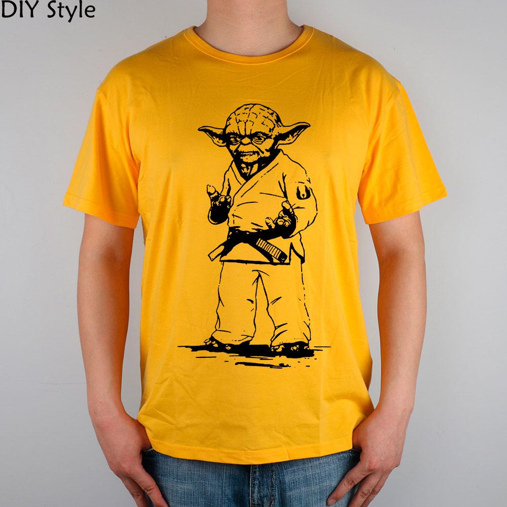 STAR WARS yoda JUDO JIU JITSU T-shirt Κορυφαία λουράκι - Ανδρικός ρουχισμός - Φωτογραφία 3