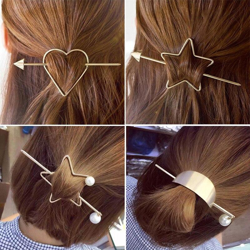 Barrette Metal Hair Clip Hairbands 2016 Korean Hair -6978
