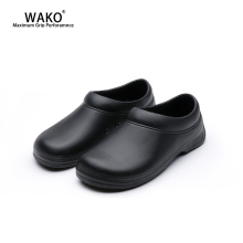 WAKO Chef Shoes Men Women Non-Slip Restaurant Kitchen Safety Work Shoes Anti-Skid Cook Sandals Shoes Hotel Surgical Shoes 9031 wako lzw9801 men kitchen shoes genuine leather chef shoes antiskid waterproof oilproof hotel shoes steel head steel toe 38 44