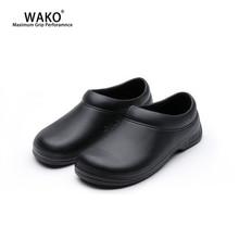 WAKO Chef Shoes Men Women Non-Slip Restaurant Kitchen Safety Work Anti-Skid Cook Sandals Hotel Surgical 9031