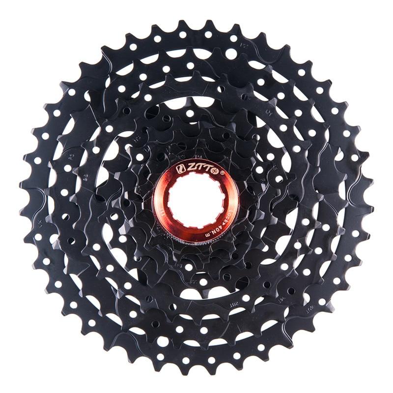 ZTTO 8s 24s Speed 11 40T Black Freewheel Cassette MTB Mountain Bike Bicycle Parts Freewheel for