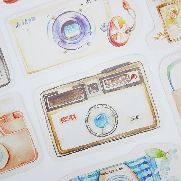 30 pcs/pack Photo Me Camera Story Greeting Card Postcard Birthday Letter Envelope Gift Card Set Message Card