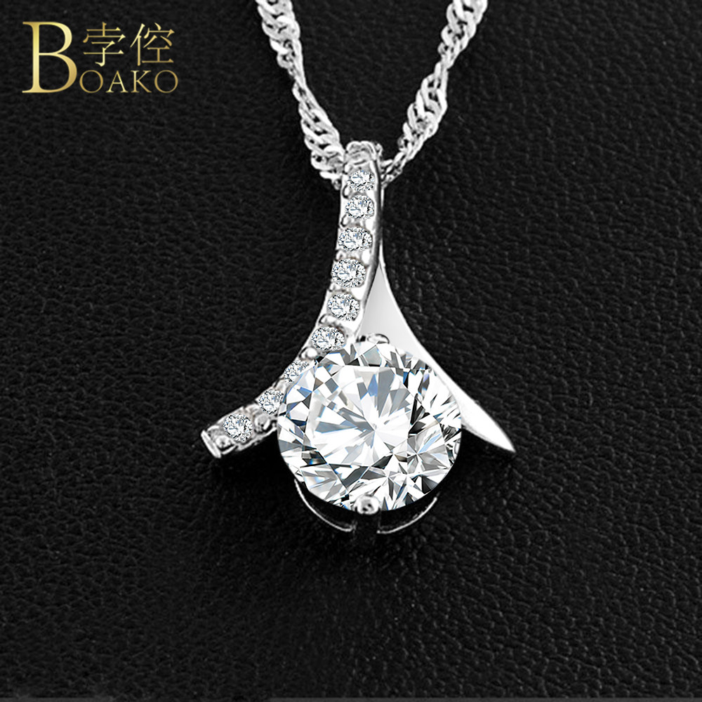 Gs Fashion Jewelry 2018 New Sliver Round Pendants Long Necklace Women Chain Romantic Statement Ladies Choker Pearl Necklace R4 Driving A Roaring Trade