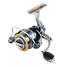 Surf Casting Fishing Reel Spinning Fishing Reel 8+1BB Gear Ratio 5.1:1 Aluminium Handle Carp Steering Wheel Spinning Reel