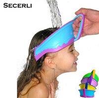 Adjustable Baby Shower Cap Protect Shampoo Kids Bath Visor Hat Hair Wash Shield For Children Infant