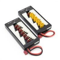 1 unids HotRc alta calidad 2 s-6 S batería de Lipo de carga paralela cargador Junta placa T enchufe XT60 macho para Imax B6 B6AC B8 6 en 1