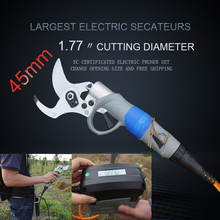 45mm Electric pruning shears, Electric pruner, Electric garden shears, Electric Vineyard,orchard Pruning Shear