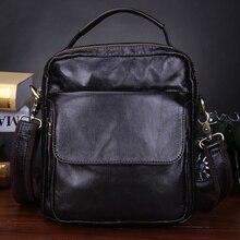 New Mens Messenger Bag Genuine Leather Shoulder