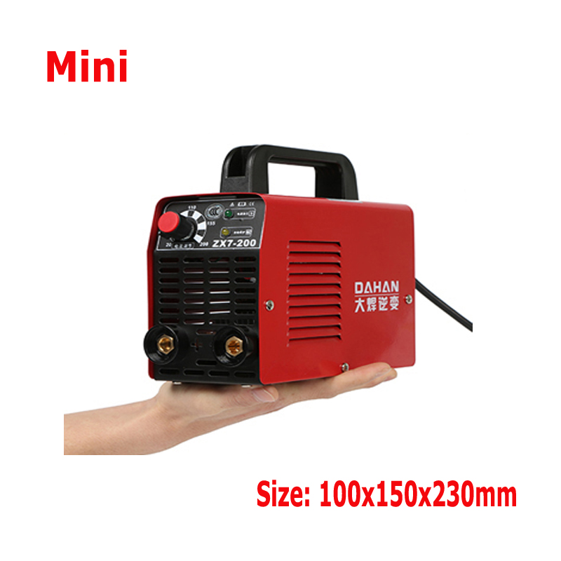 IGBT Inverter Electric Cheapest AC 220v Welding Machine, Mini Portable MMA-200 ARC STICK Welders Welding Machines 2.5mm Electrod portable arc welder household inverter high quality mini electric welding machine 200 amp 220v for household