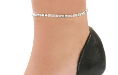 Crystal Stretch Anklet