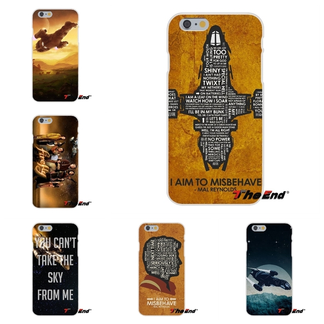 For iPhone X 4 4S 5 5S 5C SE 6 6S 7 8 Plus Galaxy Grand Core Prime Alpha Firefly Serenity Quote Poster Soft Silicone Case
