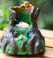 Hayao miyazaki ghibli The tree holes to sleep totoro and xiaomei clockwork music box