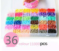 KINGTOY 5mm hama beads 36 colors set fuse/perler beads diy educational toys