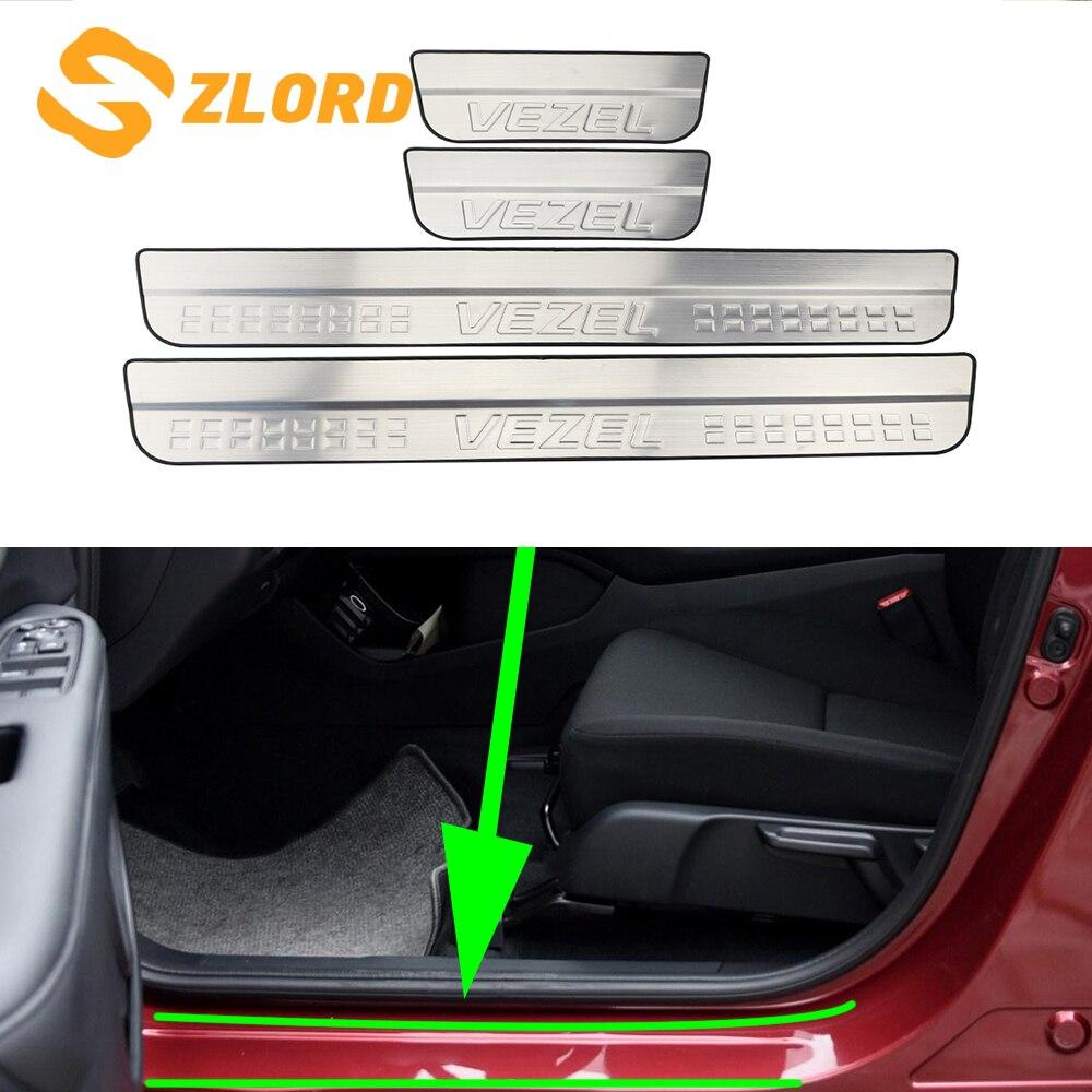 Rear Bumper Cover for Honda HR-V 2016-2018 Applique Guard Scuff Protection Plate