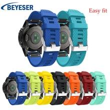 For Garmin Fenix 5S/5S Plus Watchband Strap for Garmin Fenix 5s Watch Quick Releasement Silicone Easy fit Wrist Band watch bands все цены