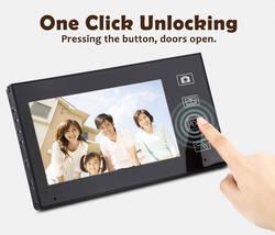 Fimei дюймов 7 дюймов TFT ЖК-дисплей 2.4g беспроводное устройство 2 водостойкая Камера Безопасности Домашний Видео дверной телефон визуальная