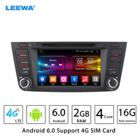 HD 7 Android 6 0 64bit DDR3 2G 16G 4G LTE Quad Core Car DVD GPS