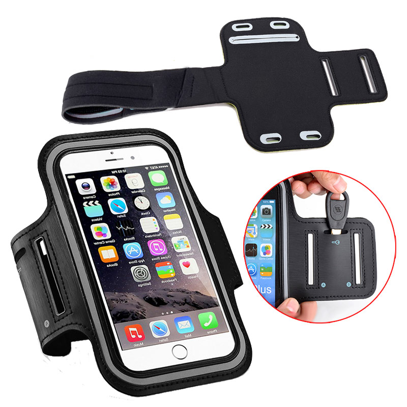 Sports Running Armband Bag Case Arm Pouch Waterproof For Cell Phone Keys Holder