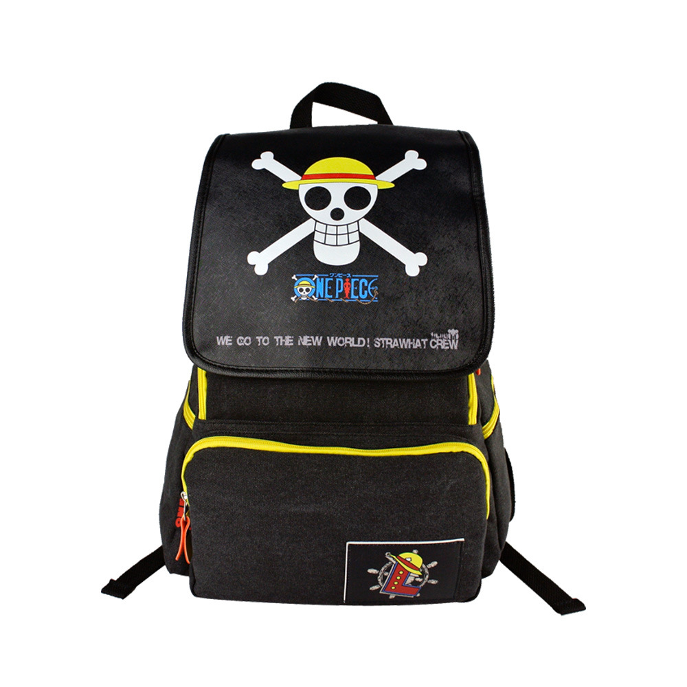 db71e8d825eb 2017 anime one piece backpack student cute cartoon school bags travel  backpacks children 1 PIECE AB399-in Backpacks from Luggage   Bags on  Aliexpress.com ...
