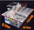 Мини DIY Стол форматно-Раскроечный станок Ручной Деревообрабатывающей Скамейке Резки DC 24 В 7000 ОБ./МИН. Металлический Каркас