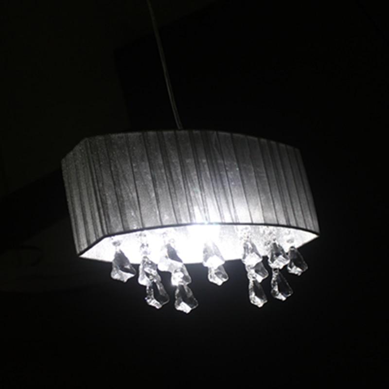 Sencillo salón de moda sala de estudio luz lustre led araña oval - Iluminación interior - foto 6