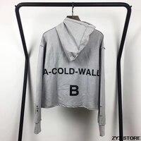 Xieruis ACW Print Men Hoodie Sweatshirt High Street Brand Designer Hiphop Men Reversible Hoodies Sweatshirts Pullover