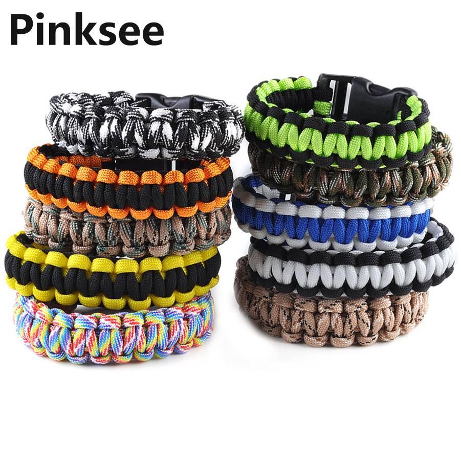 1 PC Retail Cobra PARACORD BRACELETS KIT Bracelet de Survie d'Urgence - Bijoux fantaisie - Photo 5