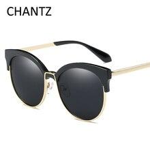 Винтаж круглые поляризованные солнцезащитные очки Для женщин модные брендовые очки, подходят для вождения, солнцезащитные очки для женщин оттенков UV400 Lunette De Soleil Femme