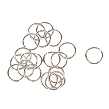 20pcs Sliver Open Split Jump Rings for Jewelry Making Crafts Findings Tools 6mm цена и фото