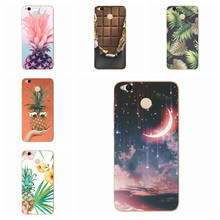 Case For Xiaomi Redmi 4X Note 4 4A Mi A1 Note 4 Pro Soft Silicone TPU tropical plant chocolate pattern Pattern Paint Cover S135(China)