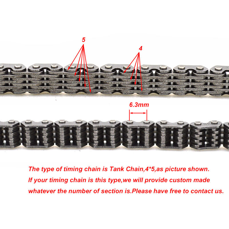 Мотоциклетная цепь привода бесшумный Cam цепь для SUZUKI Джебель 250 96-07 DR250 DR 250 97-00 двигатель запасных Запчасти
