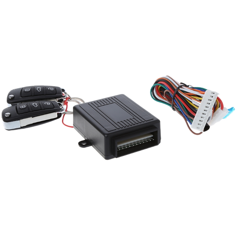 Car Alarm System Auto Remote Central Kit Door Lock Vehicle Keyless Entry System