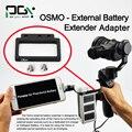 APG OSMO DJI phantom 3 4 Batería Externa Adaptador Extender conector batería X5 X3 Mano cardán drone partes accesorios