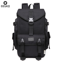 OZUKO Men's Travel Backpacks Waterproof Mochila Large Capacity Casual Backpack for 15.6 Inch Laptop Computer Bag School Backpack