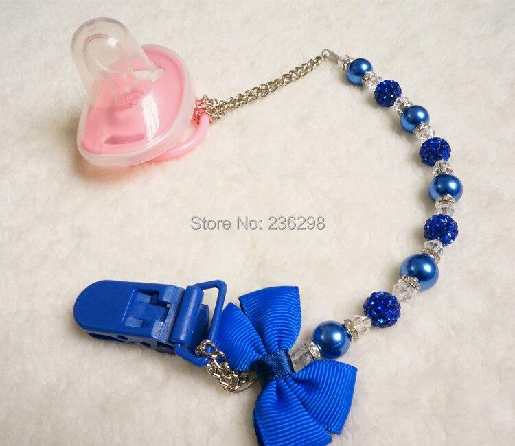 MIYOCAR Fantastiska Royal Blue Pearl Bling Rhinestone handgjorda - Äta och dricka - Foto 4