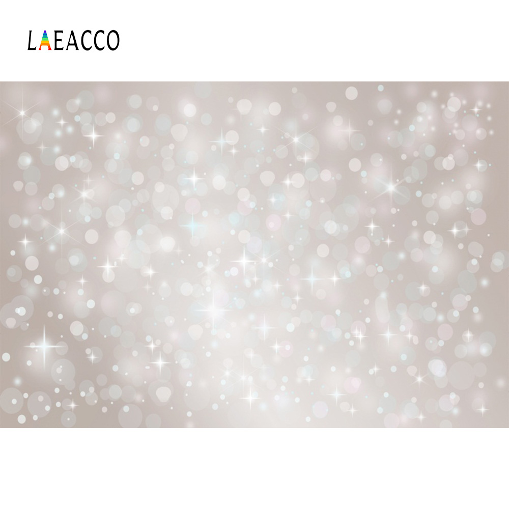 Laeacco Dreamlike Light Bokeh Baby Portrait Wedding Photography Backgrounds Customized Photographic Backdrops For Photo Studio