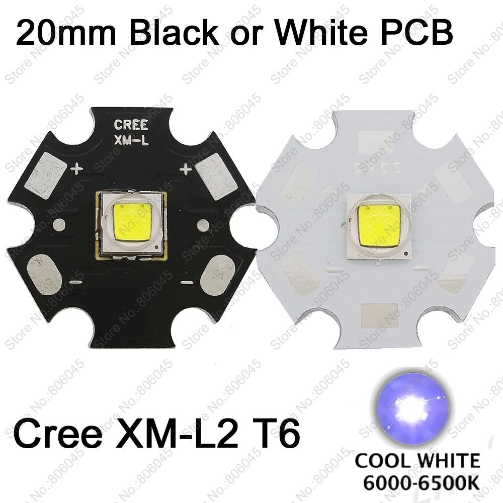 Home original cree xm l2 xml2 led emitter lamp light cold white - Getsubject Aeproduct