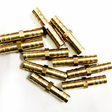 Free Shipping 10Pcs/Lot Copper Oxygen Acetylene Tube Special In-line Connector Accessories цена в Москве и Питере