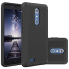 For ZTE Carry Z981 Case Dual Layer Armor Hybrid Rugged Rubber Hard PC+Silicon Shockproof Cover Case For ZTE Zmax Pro