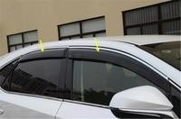 4pcs Set Window Visor Vent Shade Sun Rain Deflector Guard Shield For LEXUS NX NX200T NX300H