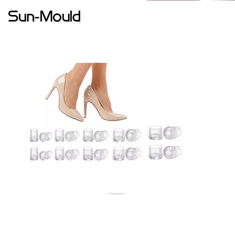 50 pairs (XS S M L XL) High Stiletto Heeled High Heel Protectors Heel Stoppers Shoes Covers Caps For Lawn Wedding Party