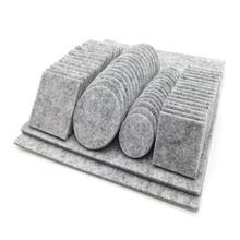 80 шт. дубовая мебель стул ножки стола самоклеющиеся войлочные колодки протекторы для деревянного пола против царапин высокое качество